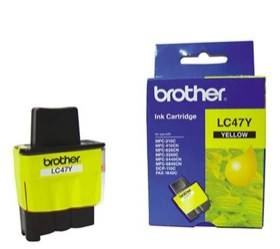 Image 1 of Brother Lc47y Yellow Ink Lc47y For Dcp-110c/ 115c/ 120c, Mfc-210c/ 215c/ 3240c LC-47Y