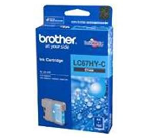 Image 1 of Brother Lc67hyc Cyan High Yield Ink Cartridge For Mfc-5890cn/ 6490cw