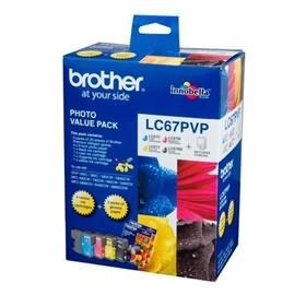 Image 1 of Brother Lc67pvp Lc-67 Photo Value Pack (with 40 Photo Sheet) For Dcp-385c LC-67PVP