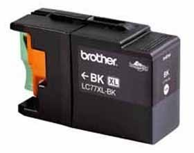 Image 1 of Brother Lc77xlbk Black Super High Yield Ink Cartridge - Up To 2400 Pages LC-77XLBK