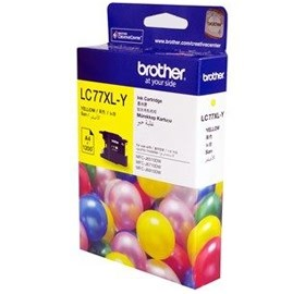 Image 1 of Brother Lc77xly Yellow Super High Yield Ink Cartridge - Up To 1200 Pages LC-77XLY