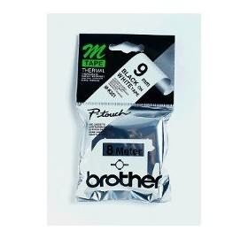 Image 1 of Brother Mk221 Brother Mk221 9mm Black On White M Tape M-K221