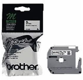 Image 1 of Brother Mk231 Brother Mk231 P-touch Tape 1/ 2 In X 26.2 Ft Black On White