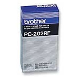 Image 1 of Brother Pc202rf Film Ribbon Pc202rf For Fax-1020/ E/ Plus, Fax-1030/ E PC-202RF