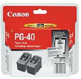 Image 1 of Canon Pg40 Twin Pk Blk Ink Carts Pg40-twin PG40-TWIN