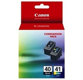 Image 1 of Canon Pg40cl41cp Pg40 & Cl41 Combo Pk Pg40cl41cp PG40CL41CP