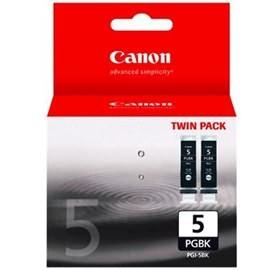 Canon PGI5BK-TWIN BLACK INK TANK CARTRIDGE 2 PACK DAMAGED PACKAGING