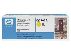 Image 1 of Hp Q3962a Toner Cartridge Yellow Q3962a
