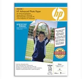 Image 1 of Hp Q5456a Hp Advanced Gloss Photo Paper 25 Sht A4 Q5456A