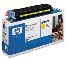 Image 1 of Hp Q6002a Toner Cartridge Yellow Q6002a Q6002A