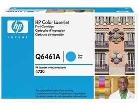 Image 1 of Hp Q6461a Toner Cartridge Cyan Q6461a Q6461A