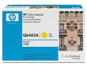 Image 1 of Hp Q6462a Toner Cartridge Yellow Q6462a