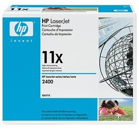 Image 1 of Hp Q6511x Toner Cartridge Black Q6511x Q6511X
