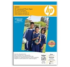 Image 1 of Hp Advance Photo Paper Glossy 10/ 15 Borderl Q8008a Q8008A