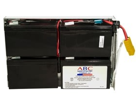 Image 1 of Apc Out Of Wrnty Replac Battery Rbc24 Apc Premium Replacement Battery Cartridge Rbc24 Rbc24 RBC24
