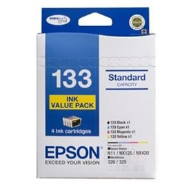 Image 1 of Epson T133692 Epson 4 Standard Capacity T133 Inks Value Pack (4 Colours) C13T133692