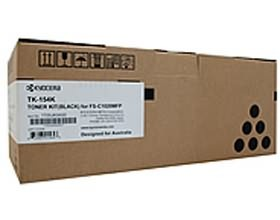 Image 1 of Kyocera Tk-154k Black Toner (6, 500 Pages In Accordance With Iso 19798) 1t05jk0as0 1T05JK0AS0