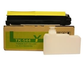 Image 1 of Kyocera Tk544y Yellow Toner Kit (4, 000 Pages In Accordance With Iso 19798) 1t02hlaas0 1T02HLAAS0