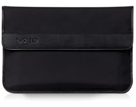 Image 1 of Sony Vaio Carry Pouch Nylon, Black Approx. 385 X260 X 10.0 Mm Vgpcp24 VGPCP24
