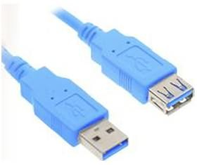 Image 1 of Wicked Wired 2m Type A Male To Type A Female USB 3.0 Data Extension Cable WW-D-USB3EXT2M WW-D-USB3EXT2M
