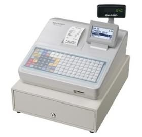 Image 1 of Sharp Xea217w Cash Register With Flat Keyboard, Electronic Journal And Receipt Printer. Colour XEA217W