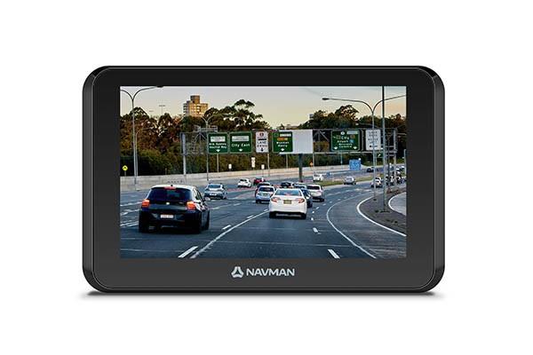 NAVMAN DRIVE DUO 2 5INCH GPS NAVIGATION 5INCH TOUCHSCREEN LCD BUILT IN 1080P FULL HD DASH CAM