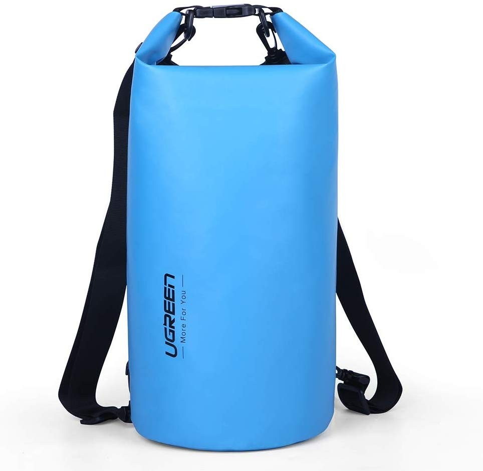 Image 1 of Ugreen Floating Waterproof Dry Bag For Cycling/Biking/Swimming/Rafting/Water Sport - Blue Acbugn70112 ACBUGN70112