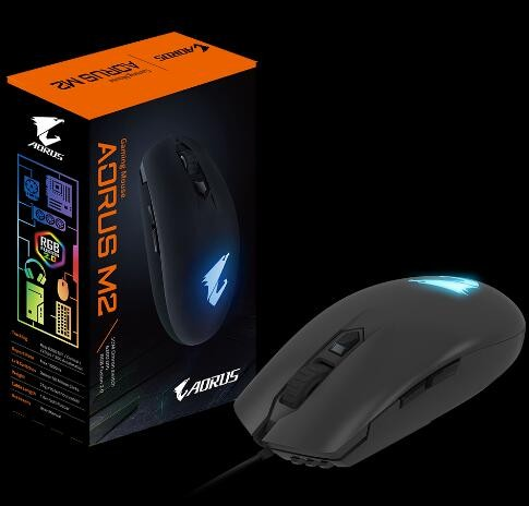 36db610a654 ... Gigabyte Aorus M2 Gaming Optical Mouse 6400 Dpi Rgb Light 2Yr Wty Gm.  Zoom