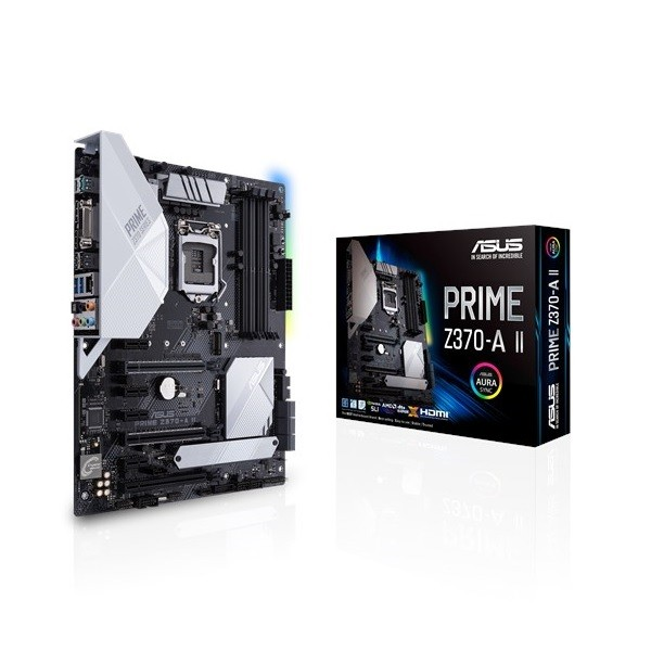 Image 1 of Asus Prime Z370-A Ii Intel Z370 Atx Motherboard Asus-90Mb0Zt0-M0Uay0