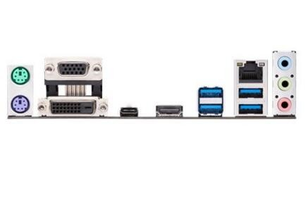 Asus Intel Lga-1151 Matx Motherboard With Aura Sync Rgb Header, Ddr4  2666Mhz, M 2 Support, Hdmi,
