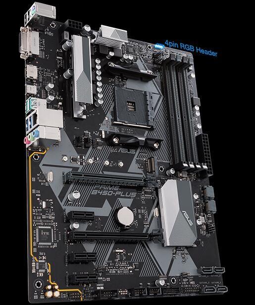 Asus Prime B450-plus Am4 Atx Mb 4xddr4 5xpcie 5xsata 1xm 2 Raid 4xusb3  1xusb Typec 1xhdmi 1xdvi