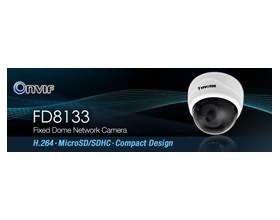 "Image 1 of Vivotek Fd8133 Real-time H.264 Microsd/ Sdhc Card Compact Design Network Camera, 1/ 4"" Cmos Sensor 71488"