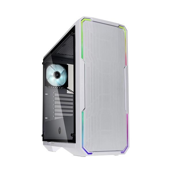 Image 1 of Bitfenix Enso Mesh Case White, Mesh Front Panel, Tempered Glass Window Side Panel, Atx/ Micro Atx/ Mini BFC-ESM-150-WWWGK-RP