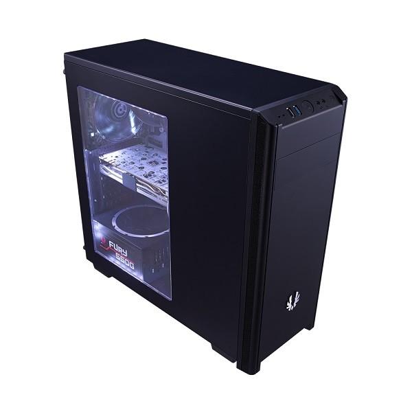 Image 1 of Bitfenix Black Nova Window Mid Tower Chassis (usb3) Bfx-nov-100-kkwsk-rp BFX-NOV-100-KKWSK-RP