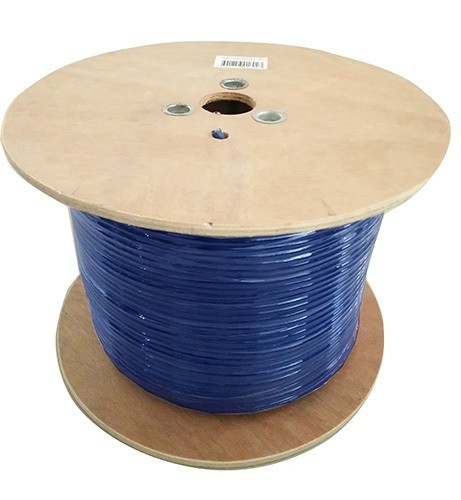 Image 1 of 8Ware Cat6A Underground/ External Cable Roll 350M Blue Cat6A-Ext350Blu CAT6A-EXT350BLU