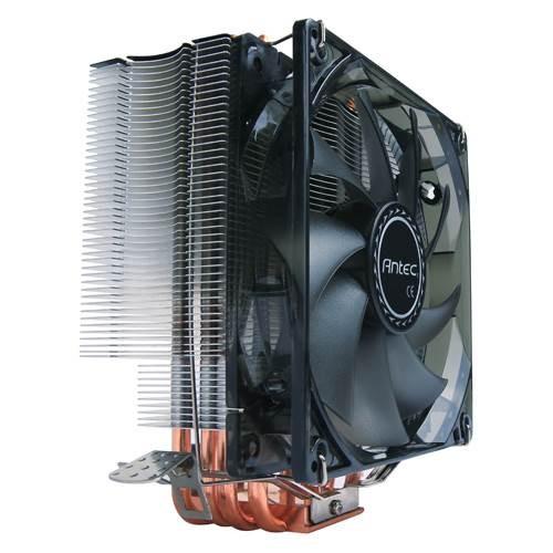 Image 1 of Antec C400 Air Cpu Cooler 120mm Blue Led 77 Cfm Intel 775 115x 1366 2011 Amd: Am2 Am2 + Am3 Am3+ C400