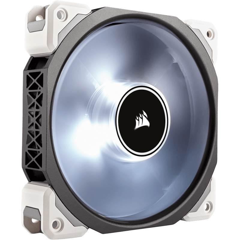 Image 1 of Corsair Ml120 Pro Led, White, 120mm Premium Magnetic Levitation Fan Co-9050041-ww 225656 CO-9050041-WW