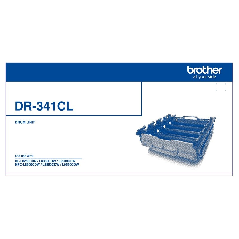 Image 1 of Brother Dr-341Cl Drum Unit-  DR-341CL