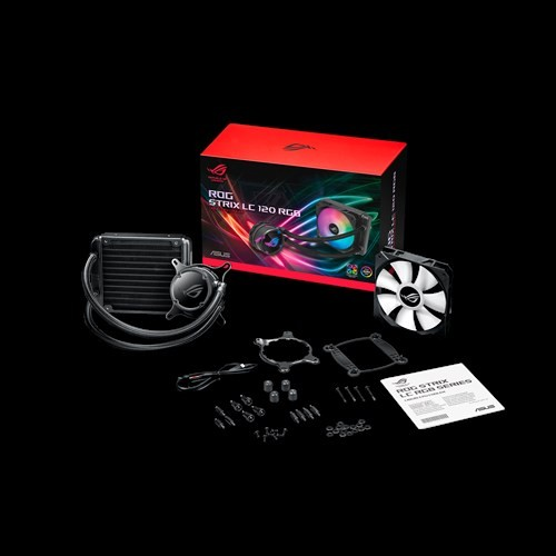 Image 1 of Asus Rog Strix Lc 120 Rgb All-In-One Liquid Cpu Cooler  ROG STRIX LC 120 RGB