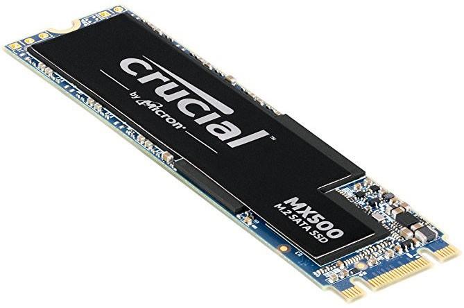 Image 1 of Crucial Mx500 500gb M.2 (2280) Ssd - 3d Tlc 560/ 510 Mb/s 90/ 95k Iops Acronis True Image Cloning CT500MX500SSD4