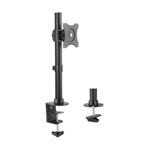 """Image 1 of Brateck Essential Single Monitor Desktop Stand For 13""""-27"""" Lcd Monitors And Screens Ldt08-t01 LDT08-T01"""