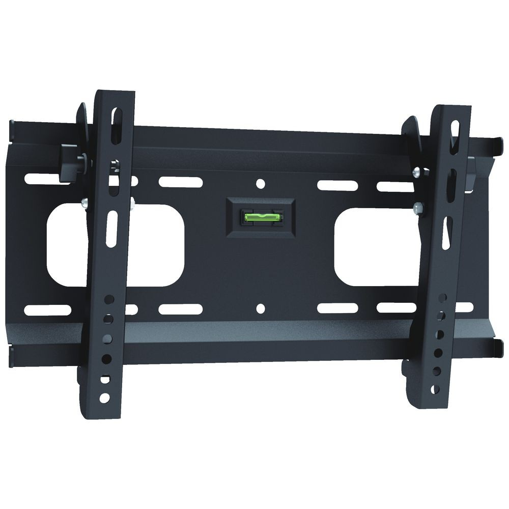 "Image 1 of Brateck Plasma/ Lcd Tv Ultra-slim Tilting Wall Bracket Up To 55"" W/ Spirit Level Plb-42 PLB-42"