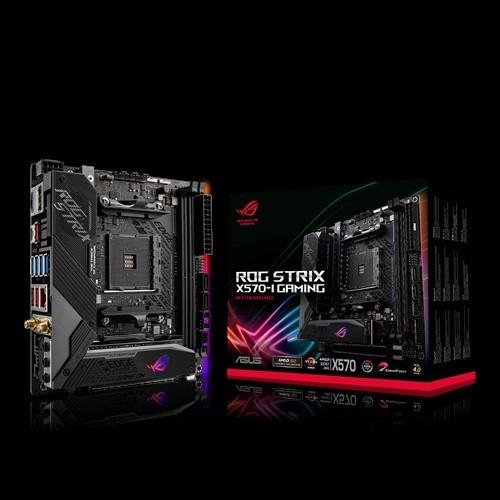 Image 1 of Asus Rog Strix X570-I Gaming Mini-Itx Gaming Motherboard Pcie 4.0 Rog Strix X570-I Gaming ROG STRIX X570-I GAMING