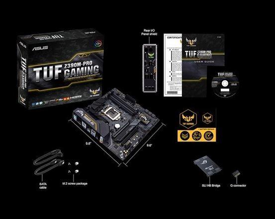 Image 1 of Asus Tuf Z390m-pro Gaming Mb S1151 Matx 2xddr4 3xpcie M.2 6 X Sata Raid Tuf Z390m-pro Gaming TUF Z390M-PRO GAMING