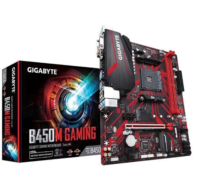 Image 1 of Gigabyte B450M Gaming Amd Ryzen Atx - GA-B450MGAMING GA-B450MGAMING