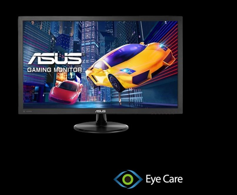 Image 1 of Asus Vp28uqg Gaming Monitor - 28 Inch 4k 1ms Adaptive-sync/ Freesync Flicker Free Blue Light VP28UQG