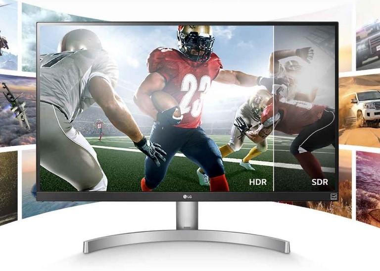 "Image 1 of Lg 27"" 4K Uhd Ips Led Monitor With Vesa Display Hdr 400 (27"" Diagonal) 27Ul600-W 27UL600-W"