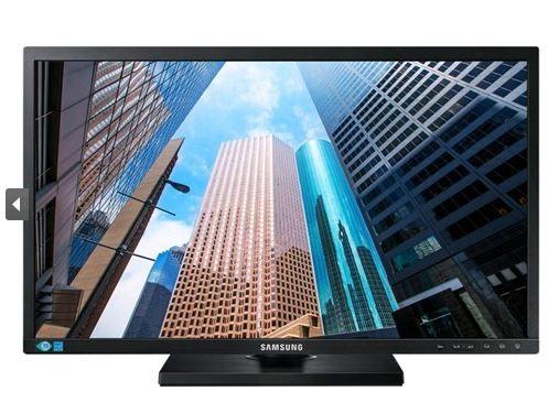 "Samsung LS27E45KBHV 27"" Wide 16:9 LED, 1920x1080, 5ms, DSub, DVI, Height Adjust, Vesa, 3Yr"