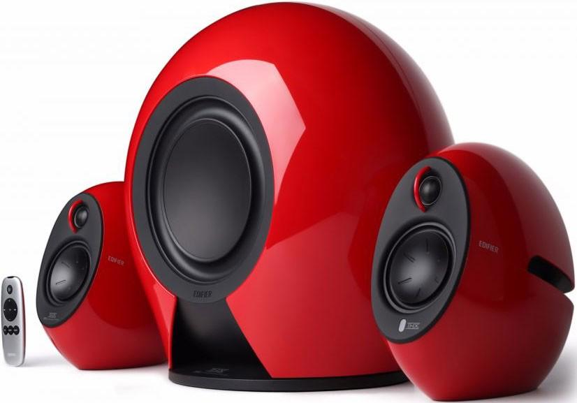 Image 1 of Edifier E235 Luna E 2.1 Thx-Certified Active Blutooth Speaker Red - Bt/ 3.5Mm/ Optical 5.8G Wireless E235-RED