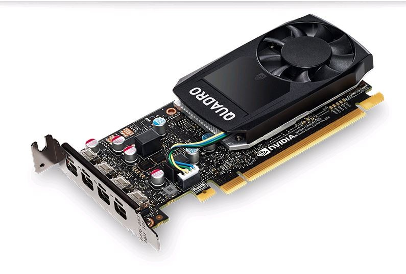 Image 1 of Leadtek Nvidia Quadro P620 Pcie Workstation Card 2gb Ddr5 4xmdp1.4 4k 4x5120x2880@60hz 128-bit 80gb/ P620